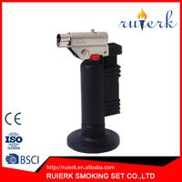RUIERK Blow Gas Torch Lighter Jewelry Little Torch Windproof Jet Flames Micro Mini Gas Torch EK-002