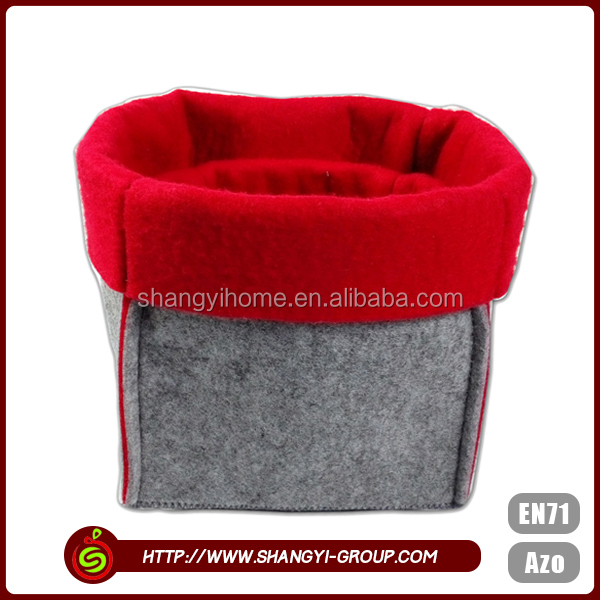 Grey color wholesale using promotional low price home storage bag