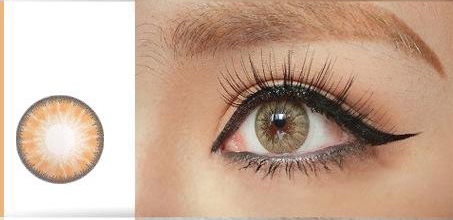 glass ball series brown lens comfort cosmetic popular various design latest stylecrazy contact lens