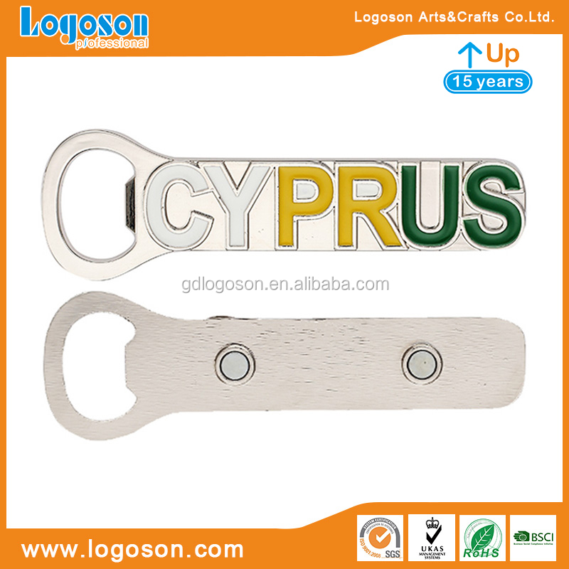 Wholesale Price Souvenir Gift Metal Die Casting Enamel Bottle Opener Customized Various Shape Bottle Opener with Strong Magnet