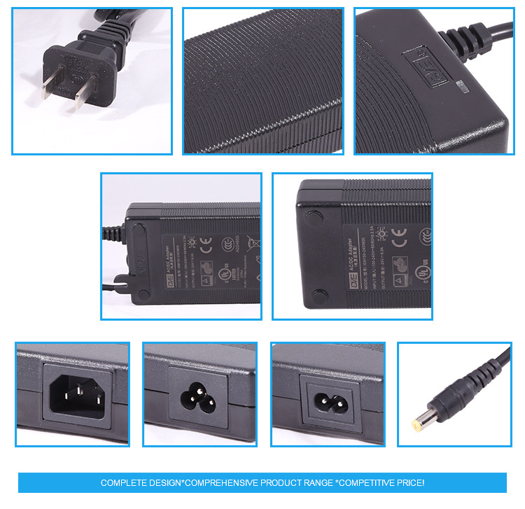 Guangdong High Power 36V 5A ac to dc Portable Power Supply With 3 Years Warranty
