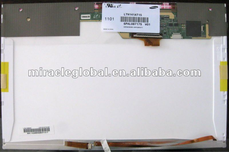 "14.1"" LCD high qulity original Laptop Screen wholesale LTN141XU for Acer"