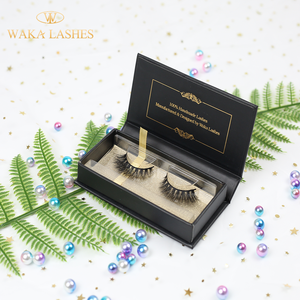 Private Label Eyelash Box Best False UK 3D Silk Lashes