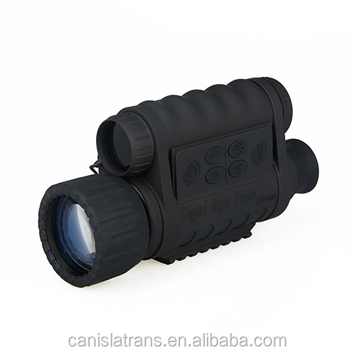 2015 new selling 6x50mm 5MP HD digital monocular night vision 5Mega Pixels CMOS vs image-intensifier tube CL27-0016