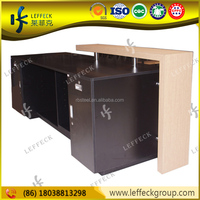 Modern cloth shop counter table design for garment store