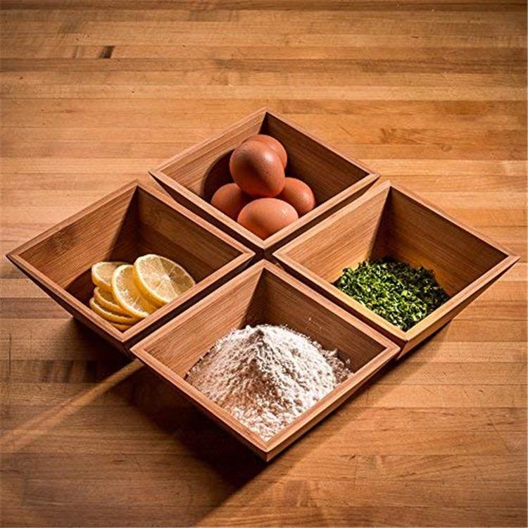 Bap Free Organic Wood Bamboo Salad Bowl 11