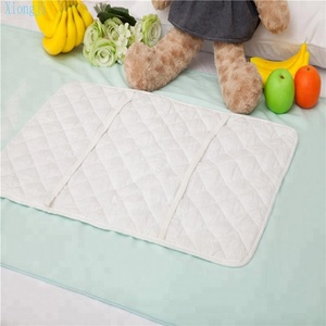 Reusable Baby Diaper Organic Bamboo Changing Pad Incontinence Bed Pad