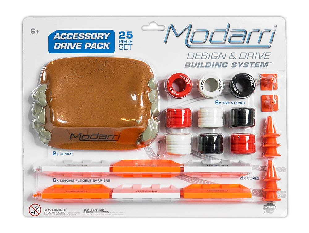 Modarri Drive Accessory Pack | Ultimate Toy Car trackset for kids to Build | STEM Playset | Educational Toy Set for 6 Year old and up bohs