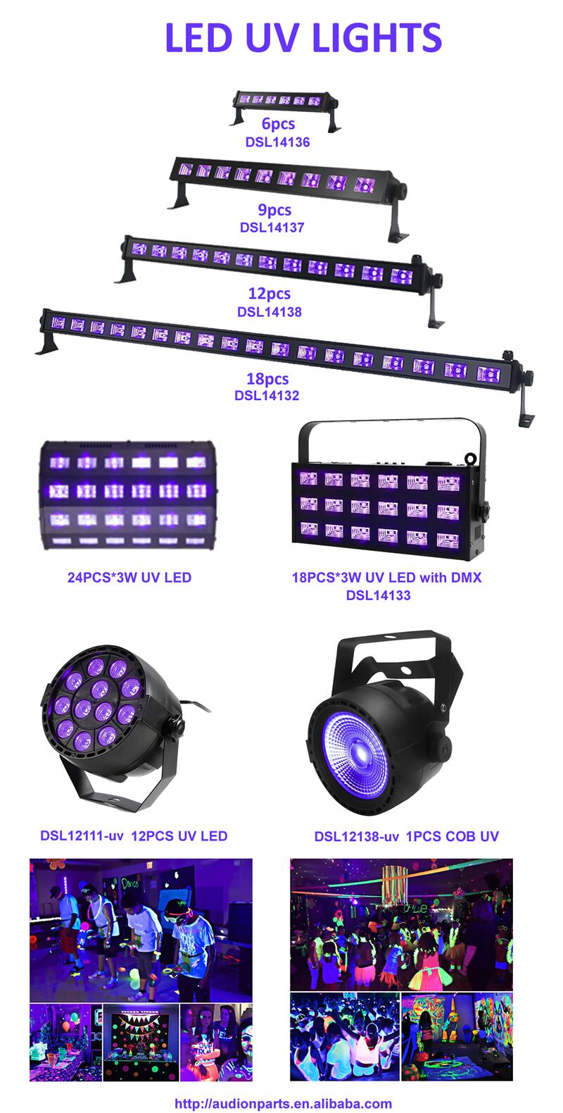 2019 New Stage Lighting 80W 54PCS RGBW LED Par Light For Stage Party