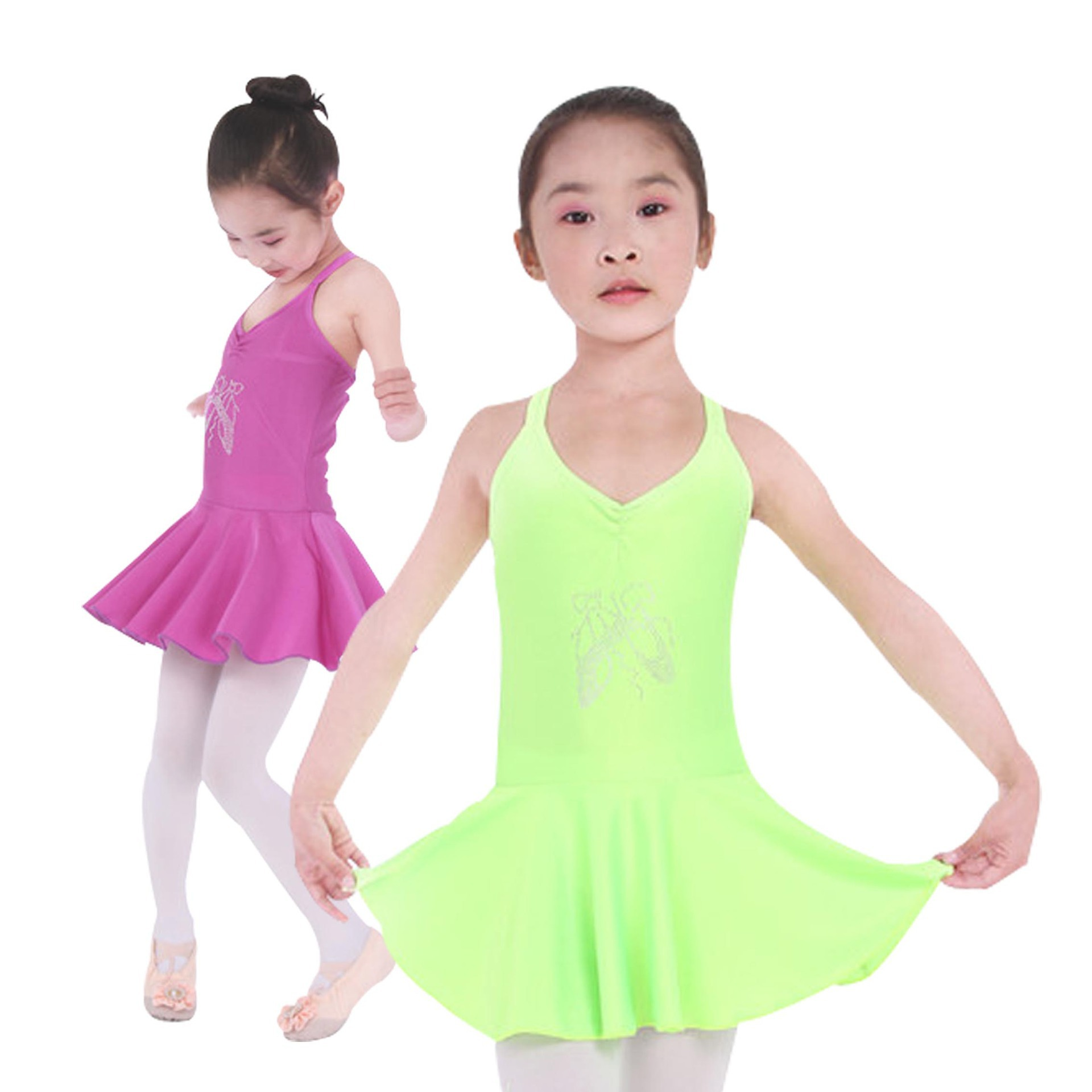 41494e1e1 Cheap Green Leotard For Girls
