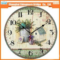 alibaba china cheap wholesale high quality decoration round wall clock