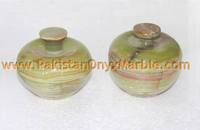 ONYX CANDY JARS HANDICRAFTS/ONYX KITCHEN JARS