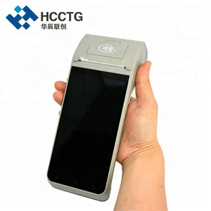 NFC Reader Portable Android POS Terminal With Thermal Printer HCC-Z91