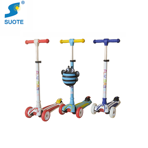 Manufacturer direct sales fashion designed lighted wheel 3 wheels kids toy blade scooter