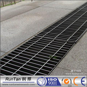 Galvanized Garage Drainage Channel Drain Floor Grates