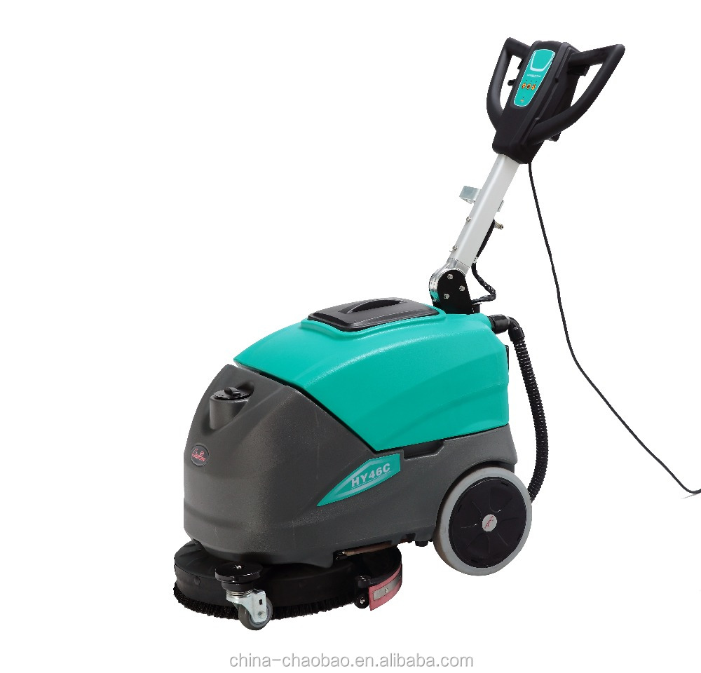 scrubber dryer with washing and sucking function