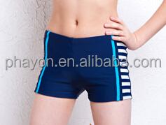 wholesale cheap price polyester/spandex children swimming trunks/boardshorts