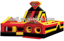 Double Rush Inflatable Obstacle Course
