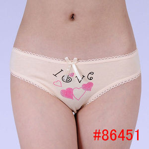 Hot sale image ladies panties hot sale cotton briefs,comfortable women leisure lingerie