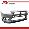 FOR LANCER EX FRONT BUMPER JSK-3 STYLE CARBON FIBER FRONT LIP FOR MITSUBISHI LANCER EVOLUTION EX (JSK201311)