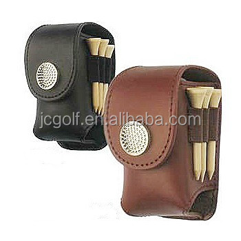 Leather Mini Golf Ball Tee Holder Set Buy Mini Golf Ball Set Golf