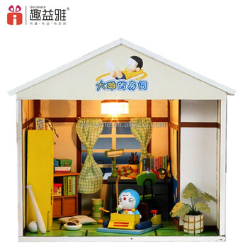 Beautiful Handmade Diy Dollhouse Wooden Doll House With Furniture