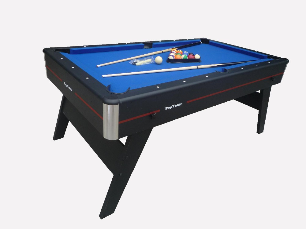 Pliable 6ft mdf table de billard portable table de billard pour les enfants tables de snooker Prix d un billard table