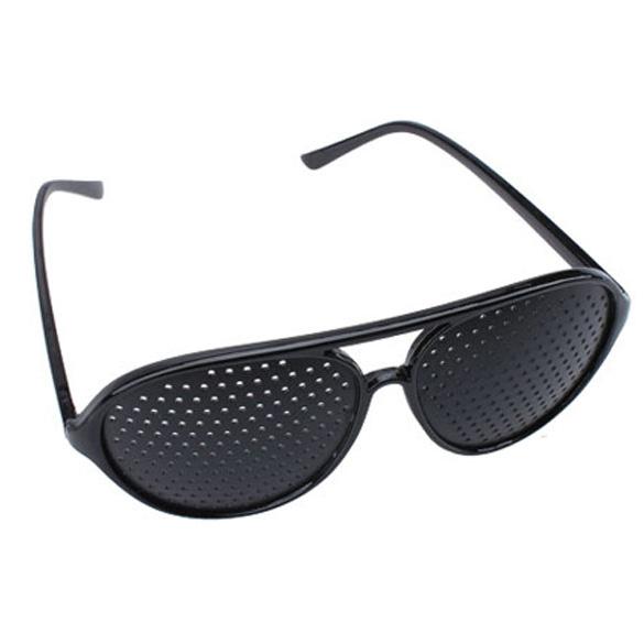 Видение очки зрение улучшение пинхол пинхол глаза упражнение очки очки ES88