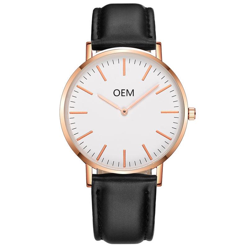 OEM Private Label Wrist Watches Men Quartz Watches Custom Watch for Women Personalized Design Dial, Pls choose color number