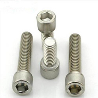 china titanium flanged hex head screw Bolt and nuts from manufacturer
