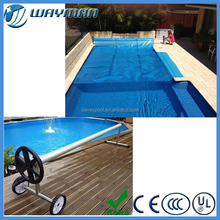 2016 Guangzhou wayman powerful swimming pool cover reel compact pool roller