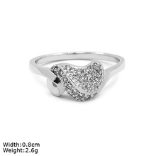 RZN-0087 special design unique 925 silver China CZ rings
