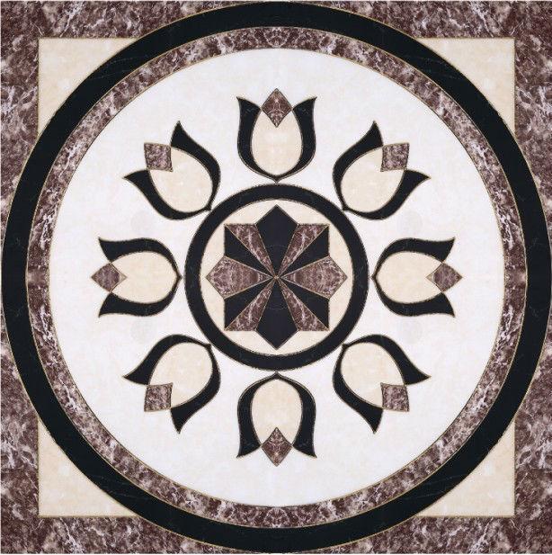 Hall Floor Decorative Tile Patterns