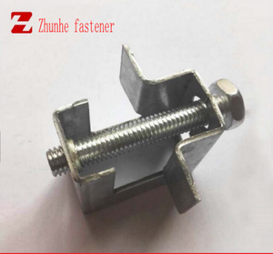 CHina factory manufacturer clip Beam Clamp steel 25mm metal clamp square beam clamp