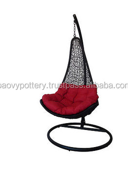 New Style Wicker Hanging Chair, Plastic Rattan Wicker Hanging Chair, Viet  Nam Plastic Wicker