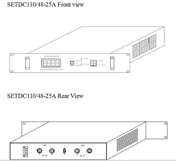 48v To 12v Converter Wiring Diagram: 110vdc To 48Vdc 25A Converter , View 110v/ 48v Converter