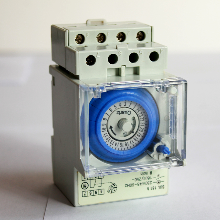 Mechanical 24 Hour Time Switch SUL181h 220V AC/programmable electronic timer