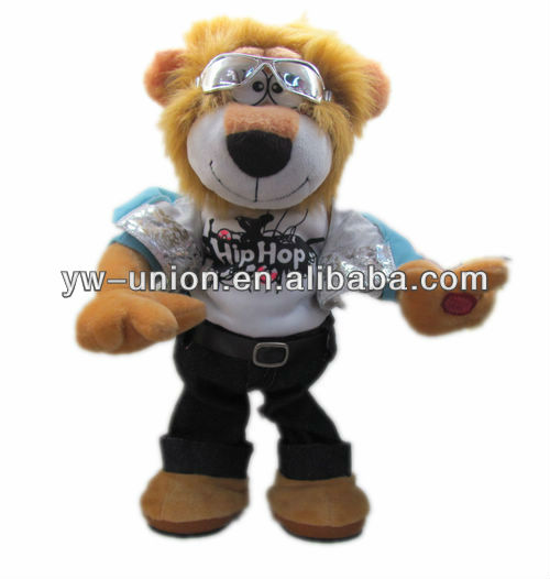 Battery Operated Walking Dancing Lion Cool Animal Toy