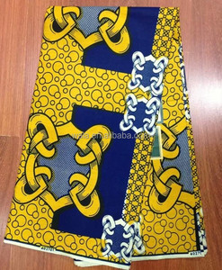 New Arrival African Fabric Super Wax Print 100% Cotton for Dresses WS1029