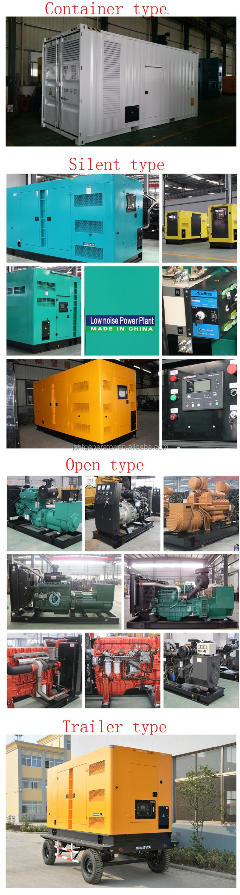 30kva Home Power Generator From Imported Engine Supper Silent Type