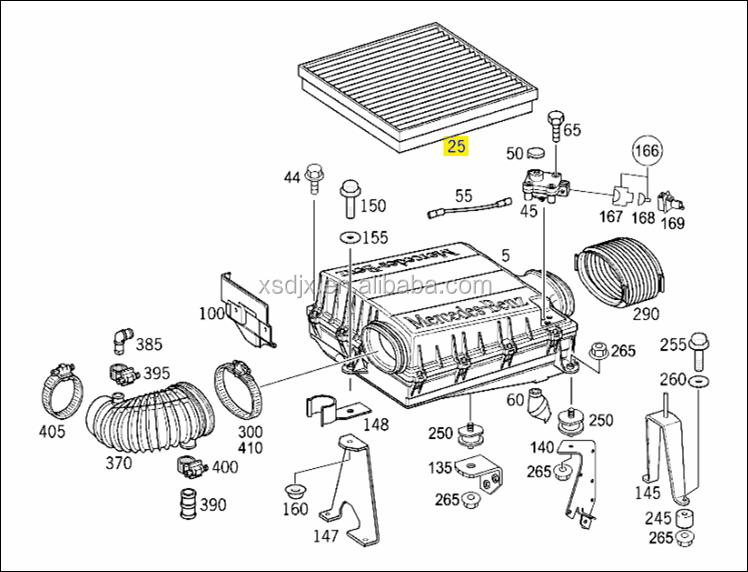spares for mercedes benz actros trucks parts air filter. Black Bedroom Furniture Sets. Home Design Ideas