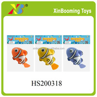 2015 new wind up toys swimming fish