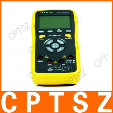 VICTOR 70C 3 5/6 Key Touch Digital Multimeter