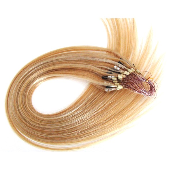 Hot!Double drawn wholesale cheap price ombre micro braid loop ring hair extension