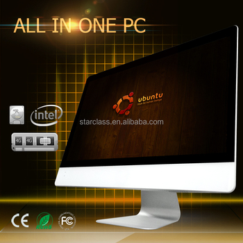 "18.5"" j1900 High performance full hd desktop with ips moniotor all in one tv pc computer"