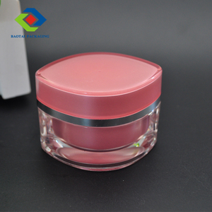 15g 30g 50g eye shape acrylic jar cosmetic cream jar