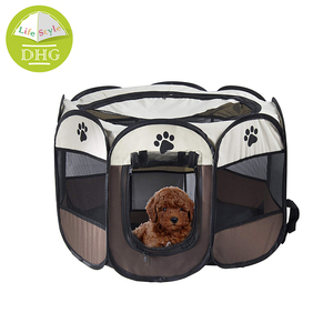 600D Oxford Foldable Dog House Comfortable Dog Tent Bed