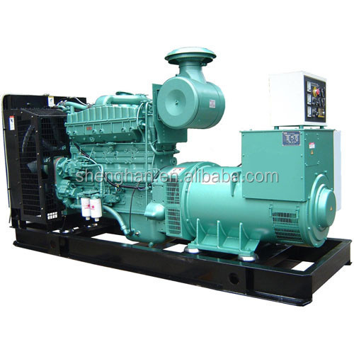 Low fuel consumption diesel/gas generator 250kva price offer