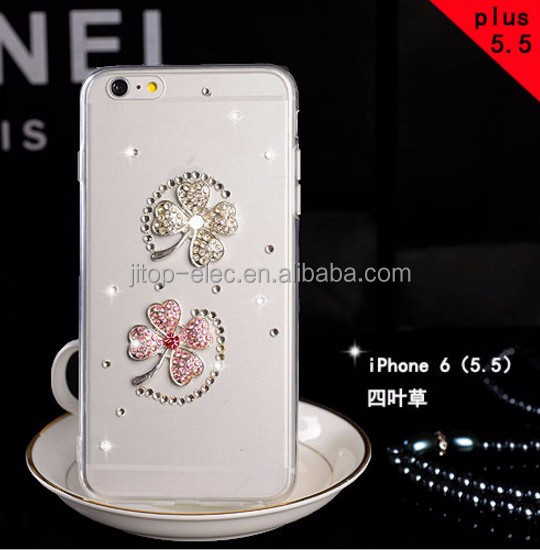 Jeweled Cell Phone Cases/cover For Iphone 4/4s,Case With Diamond For Iphone