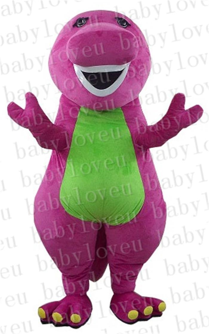 Adult Purple Dinosaur Costume 9